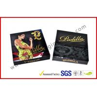 Wholesale 1.5MM Cardboard Golden Foil Cigar Gift Box , Magnetic Electric Cigarrettes Packing Boxes from china suppliers