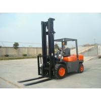 Wholesale 4 Wheel Diesel Forklift Truck 5 Ton 2240mm Turning Radius With Pneumatic Solid Tyre from china suppliers