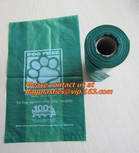 trash bin liner,refuse sack, garden compost bag,bin liner, 100% biodegrable bag for food