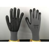Wholesale 6' Size Nitrile Coated Gloves Super Soft Cotton Blended Liner Fashion Design from china suppliers