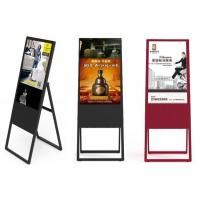 Wholesale Hot promotion restaurant white or black 43/49/55 inch portable advertising digital signage, lcd digital posters display from china suppliers