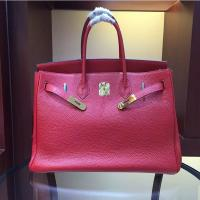 Wholesale women high quality 35cm red famous brand handbags TOGO leather bags hanbags fashion bags L-RB2-5 from china suppliers