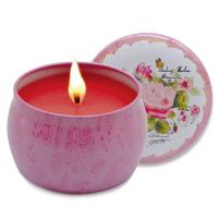 Wholesale Wholesale Different Scented Soy Wax Candles in Round Travel Tin Box from china suppliers