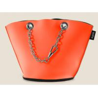 Wholesale Recyclable customeized neoprene lady's bucket shopping bag with metal chain to carry from china suppliers