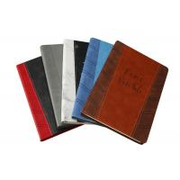 Wholesale PU Leather Custom Printed Notebooks 120 Sheets Wood - Free Paper Inner Pages from china suppliers