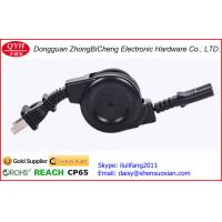 Wholesale 3 plug Locking plug Fuse AC Power Cord Reels Retractable Cable from china suppliers