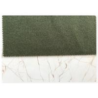 Wholesale Cold Season 720 G / M Double Faced Wool Fabric Dark Green 150CM Width from china suppliers