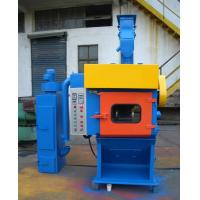 Batch Barrels / Tumble Shot Blasting Machine Fully Automatically Surface Particle Refining