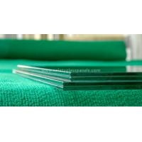 China Euro Grey Float Tempered Glass Fence Panels In Curtain Wall / Stadium wholesale