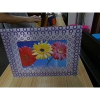 Wholesale OK3D 3d lenticular effect 360 degrees dot raster 3D stereoscopic Frame fly eye 3d photo frames for home decorations from china suppliers