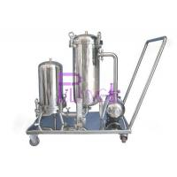 Wholesale 320kg Beverage Syrup Filter For Soft Drink Processing Equipment SUS304 1.5mm Single Layer from china suppliers