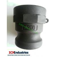 Buy cheap PP camlock coupling type A/ Polypropylene CouplerxAdaptor BSP from wholesalers
