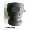 Buy cheap PP camlock coupling type A/ Polypropylene CouplerxAdaptor BSP from wholesalers