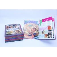 Wholesale Flexible Binding CookBook Printing With Recycled Cardboard Paper from china suppliers
