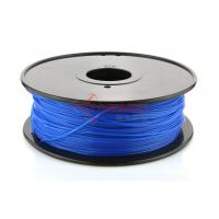 Wholesale Blue Plastic 1.75MM PLA Filament ABS 3D Printing Materials With RoHs SGS from china suppliers