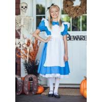 holiday carnival teenage girl halloween costume child deluxe alice dress contact supplier