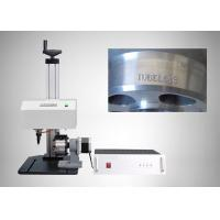 Buy cheap Electric Auto Dot Pin Marking Machine 50HZ For Metal Material HRC 92 Hardness from wholesalers