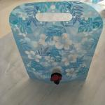 Wholesale Custom Blue Printing Vertical Liquid Water Packaging Bag Leakproof SGS from china suppliers