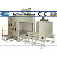 Wholesale 500kg Pressure Pot Sandblaster , Automatic Sandblasting Machine Two Work Stations Type from china suppliers