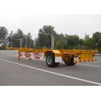Wholesale 1 Axle Gooseneck 40 Feet Skeleton Semi Trailer For Cargo Container Transport from china suppliers