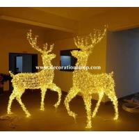 Wholesale large outdoor christmas reindeer light from china suppliers