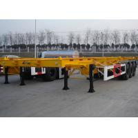 Wholesale 48 Foot Low Clearance Skeleton Semi Trailer , Gooseneck Container Trailer from china suppliers
