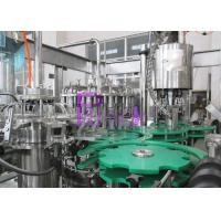Wholesale SUS316 contact parts Juice Filling Machine suitable for different size bottle changing from china suppliers
