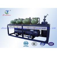 Parallel Commercial Refrigeration Units Screw Type , High Temperature