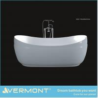Acrylic material freestanding bathtub of kitchencabinet for Best freestanding tub material