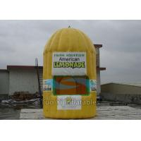 Wholesale Fire Retardant Inflatable Lemonade Booth , Photo Booth Advertisement Bar Tent from china suppliers