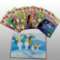 Wholesale Recycled Disney Coloring Book Printing Service Saddle Stitched Binding from china suppliers