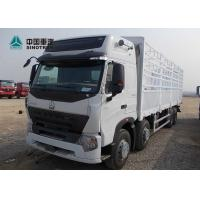 Wholesale A7 Heavy Cargo Truck / Howo Tractor Truck ST16 Drive Axle With 800mm Fence from china suppliers