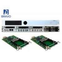 Multichannel MEPG - 2  SD HD Encoder Modulator Supporting Six Pluggable Transcoding Modules