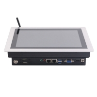 Wholesale Intel Celeron J1900 12.1'' Embedded PCAP Touch Panel Pc Linux from china suppliers