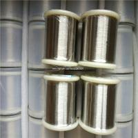 Wholesale Russian 99.9% NP1 NP2 pure nickel wire 0.025 mm for industry use from china suppliers