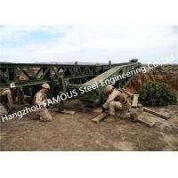 Wholesale Easy Installation Temporary Steel Structure Bailey Bridge Military Application from china suppliers
