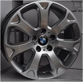 China wholesale car alloy wheel 19 inch car aluminum alloy rims 120(mm)PCD, hyper silver machined face, chrome