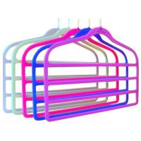 Wholesale Flocked Pants Hanger (LD-P012) from china suppliers