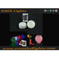 China 16 Color Changing RGB Rotating Light Base For Cups Beer / Party Club , DMX905 wholesale