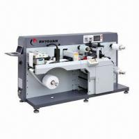 Wholesale Intermittent Label Rotary Die-cutting Machine with Inkjet printer from china suppliers