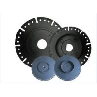 Wholesale 7 Diamond Circular Saw Blade With Flange , Wet / Dry Cut Stone Cutting Saw Blades from china suppliers