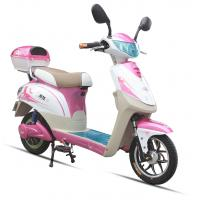Wholesale 350W Pink Adult Electric Scooter , Battery Operated Scooter With 350W - 450W Motor from china suppliers