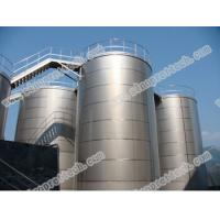 China stainless steel storage tank with good welding on sale