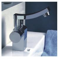 Single Handle Lavatory Basin Contemporary Tap Mixer Faucets Brass Chrome Surface