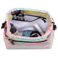 Quality Makeup & Cosmetic Bag, Cinch-Top Closure, 4 Open Pockets, Water Resistant for sale