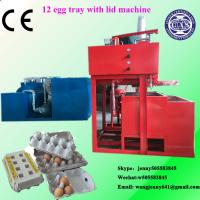 China Free sample available egg tray machine production line/used paper egg tray make machine on sale