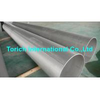 China Pressure Purposes EN10217-7 Stainless Steel Tubes With Automatic Arc Welding wholesale