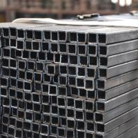 Wholesale Black Painting Treatment Square Metal Tube 5.8m-12m Length Chemical Resistant from china suppliers