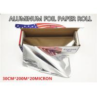 Quality Household Catering Aluminum Foil Paper Roll Aluminum Foil For Food Packaging for sale
