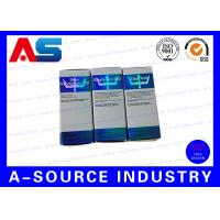 Buy cheap Small Glass Bottles 10ml Vial Storage Box Printing Hologram Foil With Label from wholesalers
